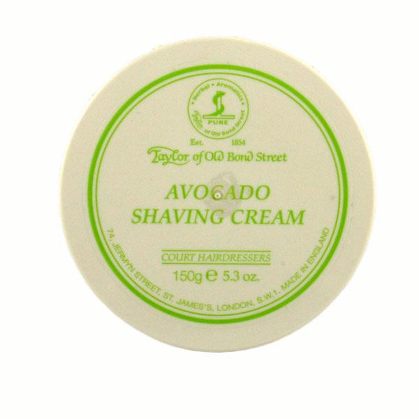 Avocado Shaving cream in bowl-0