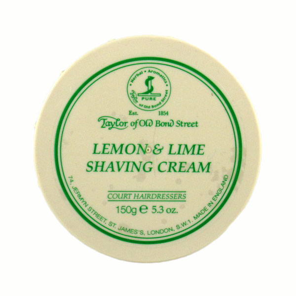 Lemon & Lime Shaving cream in bowl-0