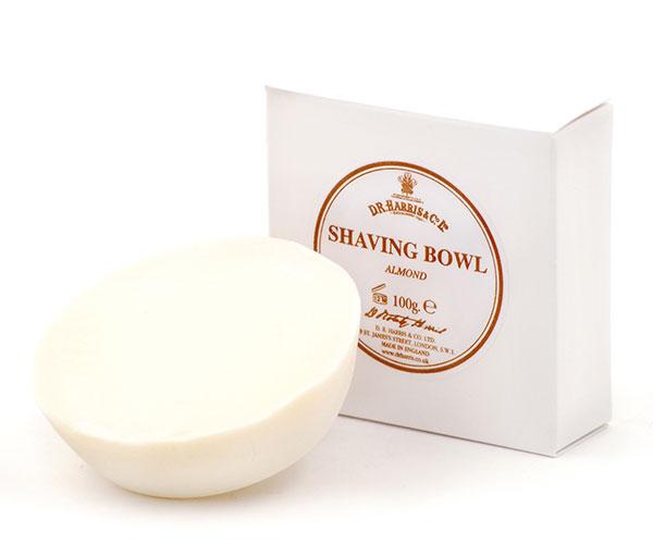 Almond shaving soap refill-0