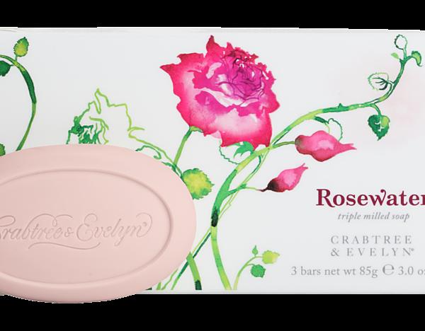 Rosewater Box 3 Soaps-0