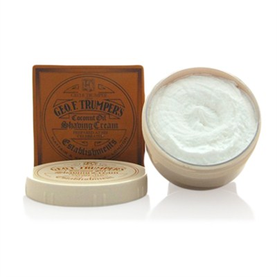 Coconut Oil Soft Shaving Cream in bowl-0