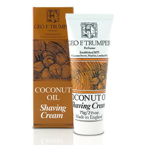Coconut Oil Soft Shaving Cream in tube-0