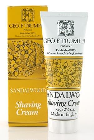 Sandalwood Soft Shaving Cream in tube-0