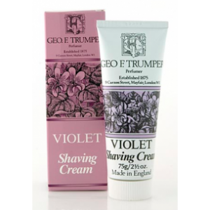 Violet Soft Shaving Cream in tube-0
