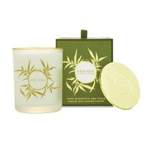 White Grapefruit & May Chang Scented Candle 180 gr-0