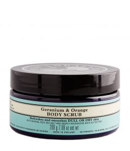 Geranium & Orange Body Scrub-0